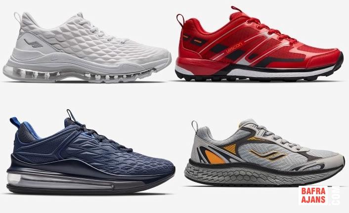 Yazlık Spor Ayakkabı Modelleri 2020