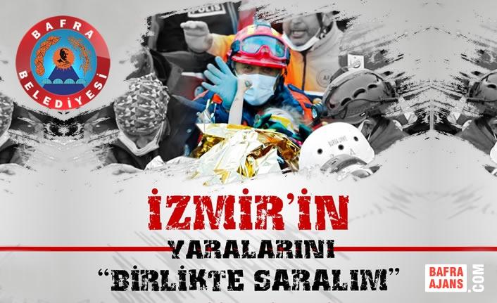 Bafra'dan İzmir'e Yardım Eli