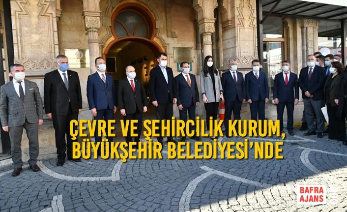 Bakan Kurum, Büyükşehir Belediyesi'nde