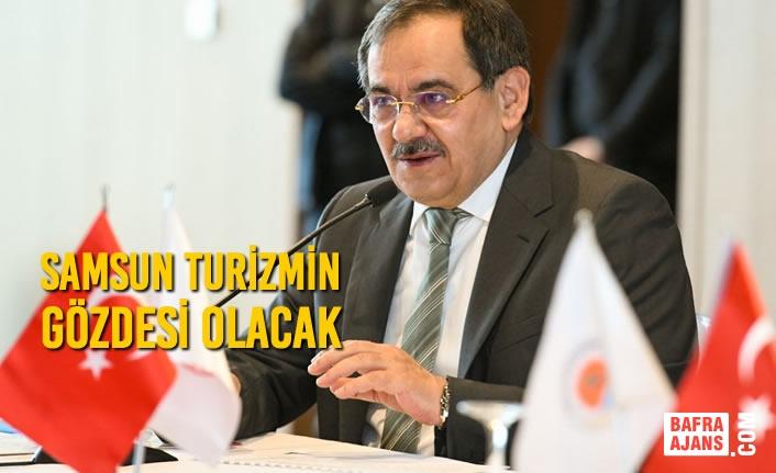 """Başkan Demir: """"Turizm denildiğinde aklınıza gelen her şey Samsun'da var"""""""