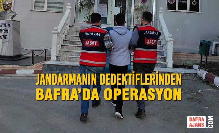 Jandarmanın Dedektiflerinden Bafra'da Operasyon