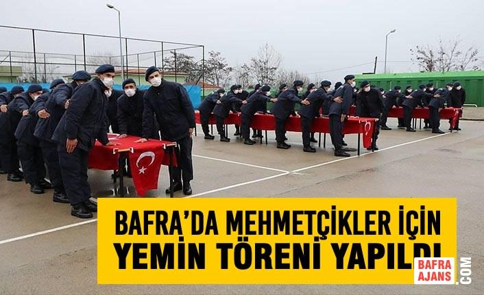 Bafra'da Mehmetçikler İçin Yemin Töreni Yapıldı