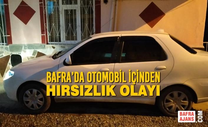 Bafra'da Otomobil İçinden Hırsızlık