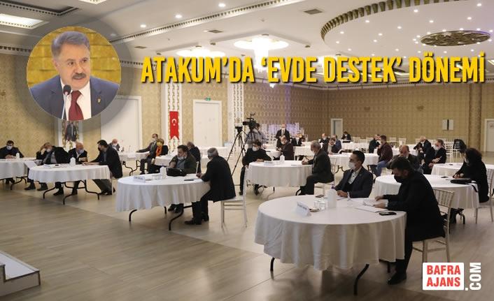 Atakum'da 'Evde Destek' Dönemi