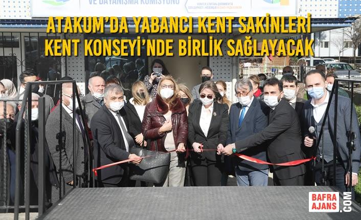 Atakum'da Yabancı Kent Sakinleri Kent Konseyi'nde Birlik Sağlayacak