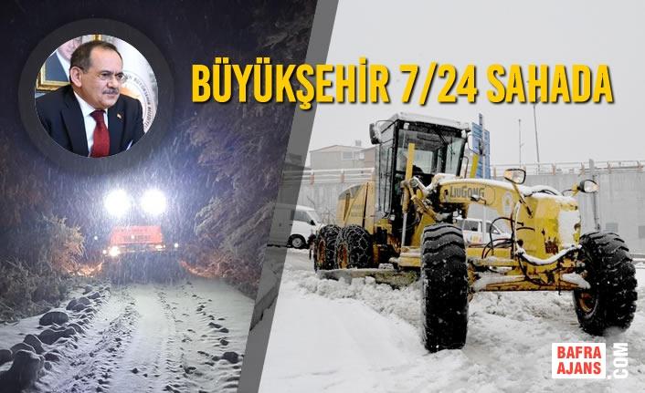 Kar Nedeniyle Ulaşıma Kapanan 263 Mahallenin Yolu Açıldı