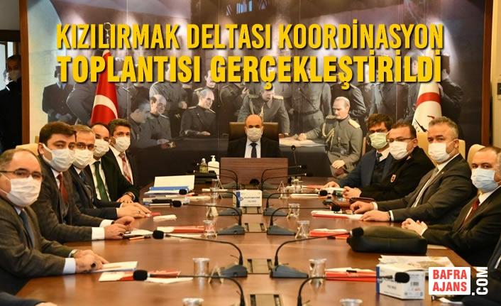 Kızılırmak Deltası Koordinasyon Toplantısı Gerçekleştirildi