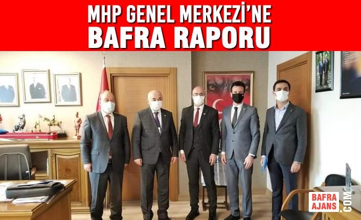 MHP Genel Merkezi'ne Bafra Raporu