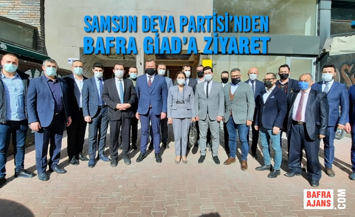 Samsun Deva Partisi'nden Bafra GİAD'a Ziyaret