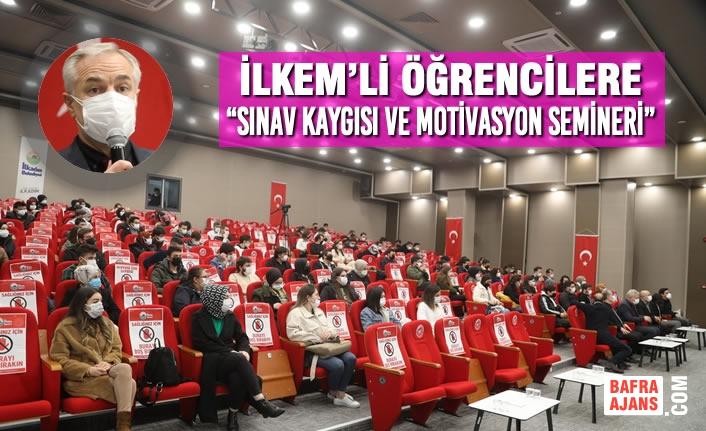 Başkan Demirtaş'dan İlkemli Öğrencilere Sınav Öncesi Moral Desteği