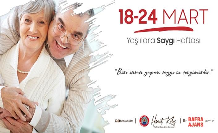 Başkan Kılıç'ın 18-24 Mart Yaşlılar Haftası Mesajı