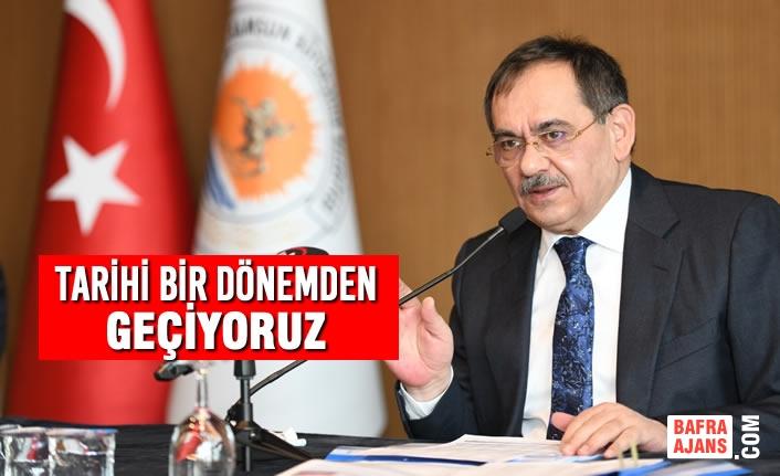 Samsun Yatay Kalkınmayı Türkiye'de En İyi Başaran Şehir Olacak