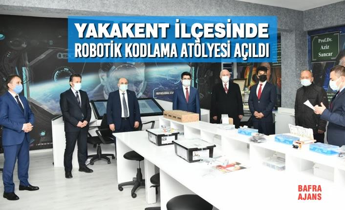 Yakakent'te Robotik Kodlama Atölyesi Açıldı