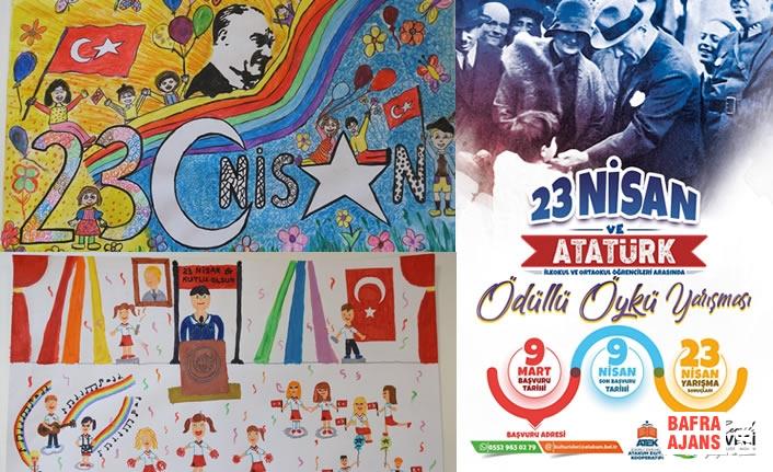 """""""23 Nisan Ve Atatürk'ü Sanatla Anlattılar"""
