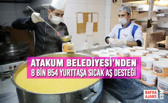 Atakum Belediyesi'nden Karantinadaki 8 Bin 854 Yurttaşa Sıcak Yemek Desteği