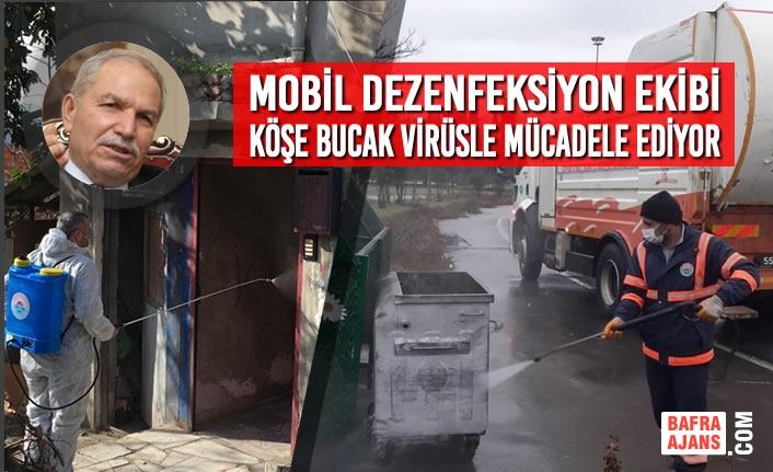 Başkan Demirtaş, İlkadım'da Virüs Bitene Kadar Sahadayız