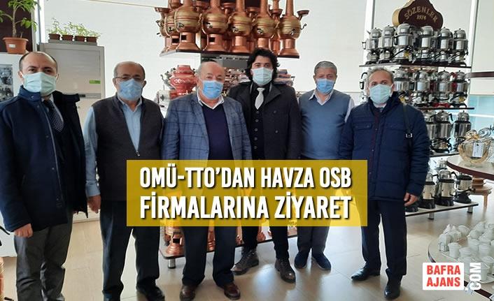 OMÜ-TTO'dan Havza OSB Firmalarına Ziyaret