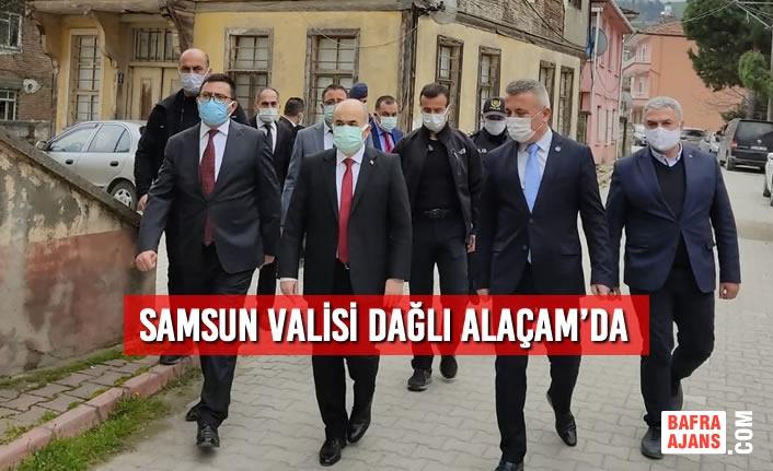 Samsun Valisi Doç. Dr. Zülkif Dağlı Alaçam'da