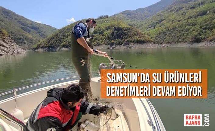 Samsun'da Su Ürünleri Denetimleri Devam Ediyor