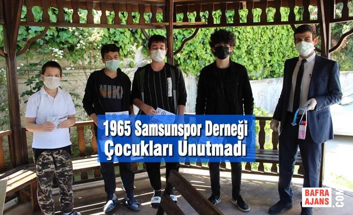 1965 Samsunspor Derneği Çocukları Unutmadı