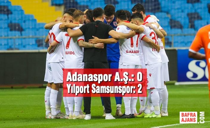 Adanaspor A.Ş. – Yılport Samsunspor: 0 – 2