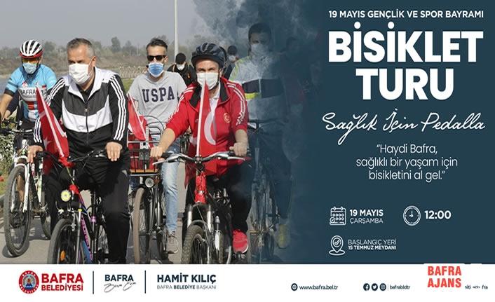 Bafra Belediyesi; 19 Mayıs'ta Bisiklet Turu Düzenleyecek