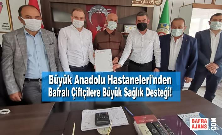 Büyük Anadolu Hastaneleri'nden Bafralı Çiftçilere Büyük Sağlık Desteği!