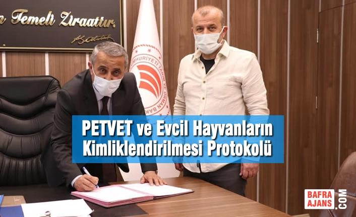 PETVET ve Evcil Hayvanların Kimliklendirilmesi Protokolü İmzalandı