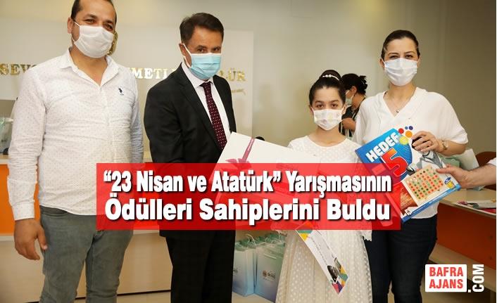"""""""23 Nisan ve Atatürk"""" Yarışmasının Ödülleri Sahiplerini Buldu"""