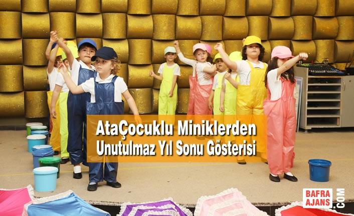 AtaÇocuklu Miniklerden Unutulmaz Yıl Sonu Gösterisi