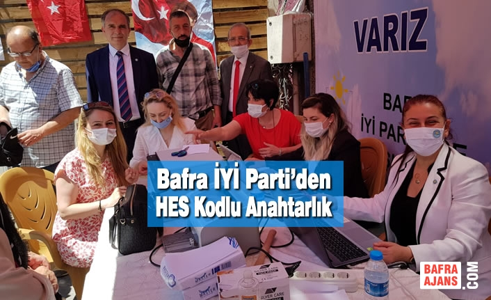 Bafra İYİ Parti'den HES Kodlu Anahtarlık