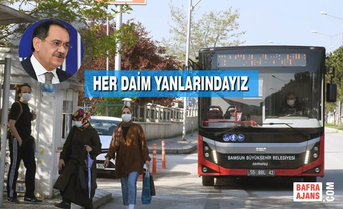 Büyükşehir Belediyesi 11 Bin Sağlık Çalışanına Ücretsiz Ulaşım İmkanı Sağladı