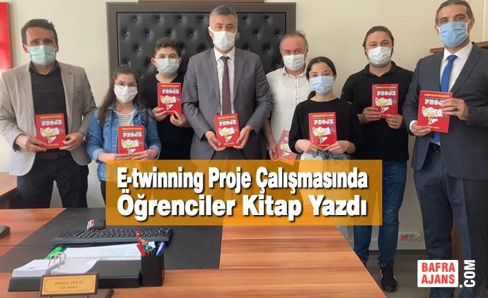 E-twinning Proje Çalışmasında Öğrenciler Kitap Yazdı