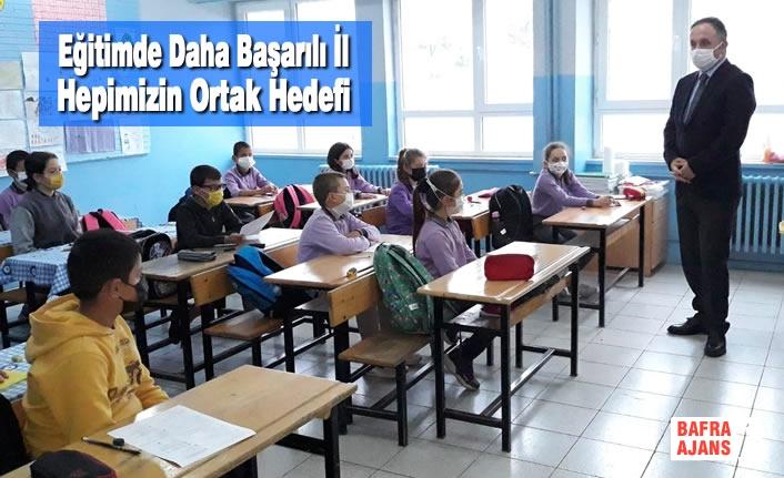 Eğitimde Daha Başarılı İl Hepimizin Ortak Hedefi