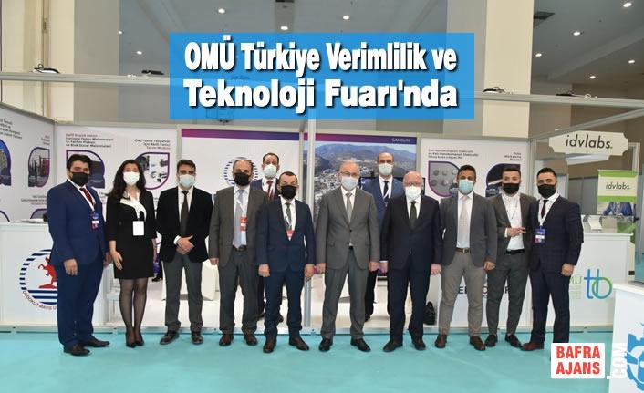 OMÜ Türkiye Verimlilik ve Teknoloji Fuarı'nda
