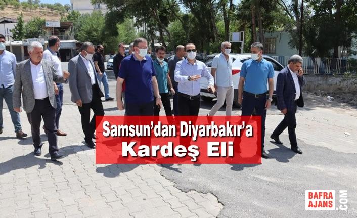 Samsun'dan Diyarbakır'a Kardeş Eli