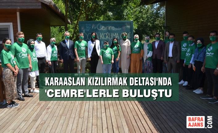 AK Partili Karaaslan Kızılırmak Deltası'nda 'Cemre'lerle buluştu