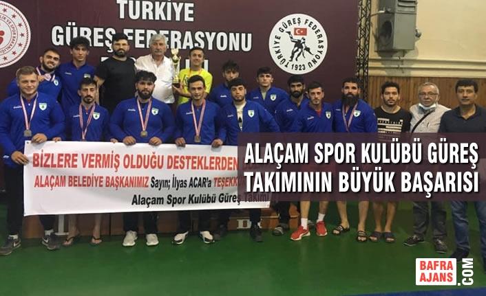 Alaçam Spor Kulübü Güreş Takımının Büyük Başarısı