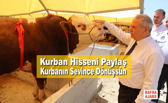 Başkan Demirtaş, Kurbanlarınızı İhtiyaç Sahiplerine Biz Ulaştıralım