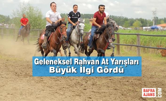Geleneksel Rahvan At Yarışları Büyük İlgi Gördü