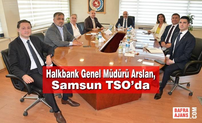 Halkbank Genel Müdürü Arslan, Samsun TSO'da