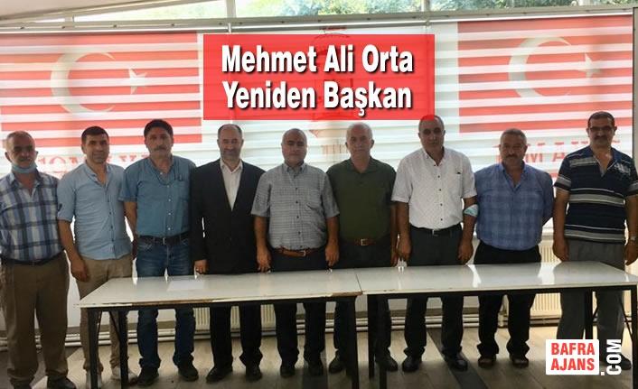 Mehmet Ali Orta Yeniden Başkan