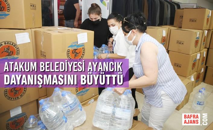 Atakum Belediyesi Ayancık Dayanışmasını Büyüttü