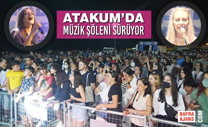 Atakum'da Müzik Şöleni Sürüyor