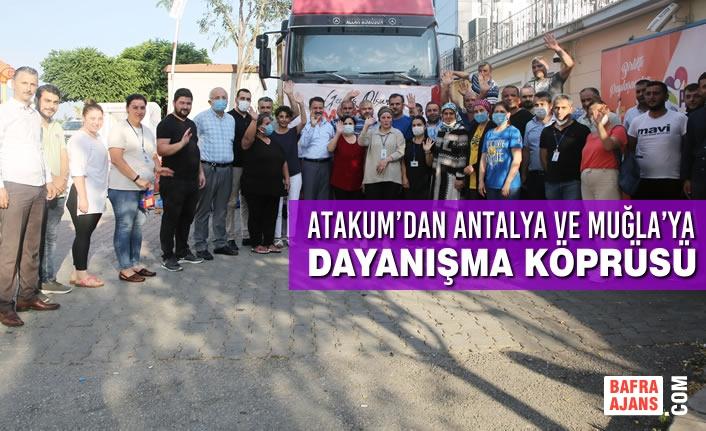 Atakum'dan Antalya ve Muğla'ya Dayanışma Köprüsü