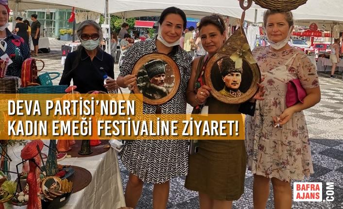Deva Partisi'nden Kadın Emeği Festivaline Ziyaret!