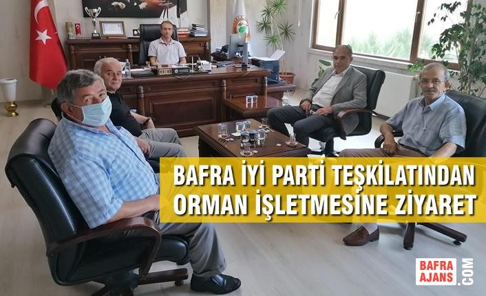 İYİ Parti Bafra Teşkilatından Orman İşletmesine Ziyaret