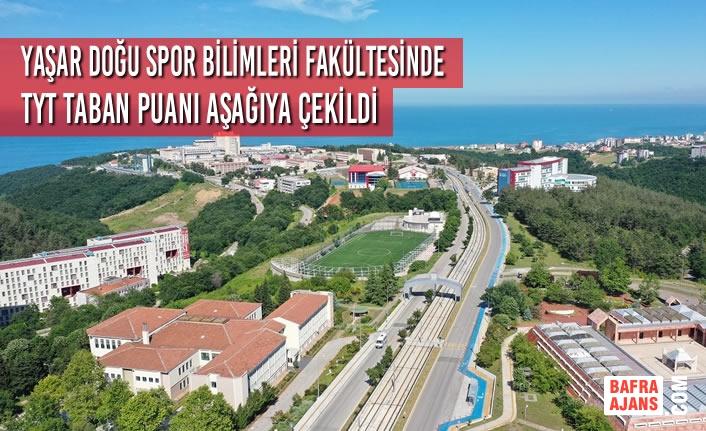 Yaşar Doğu Spor Bilimleri Fakültesinde TYT Taban Puanı Aşağıya Çekildi