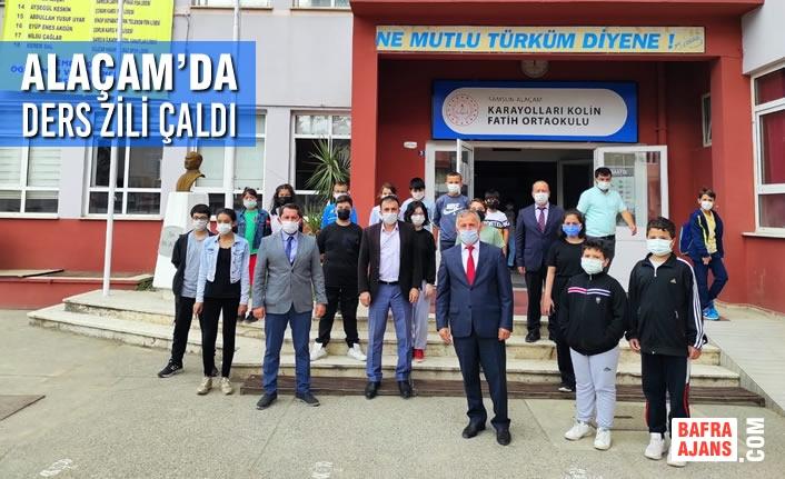 Alaçam'da 2021-2022 Ders Zili Çaldı