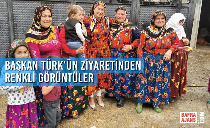 Başkan Türk'ün Vezirköprü Ziyaretinden Renkli Görüntüler